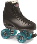 Sure-Grip Roller Skates Black Fame Motion
