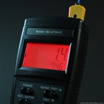 EMF/Temperature Digital Mel Meter With RED Backlight and flashlight