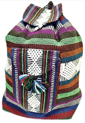 Traditional Mexican Backpack - Mayan 12