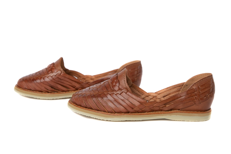 5b05951591f Buy Woven Closed Toe Mexican Sandal Flats