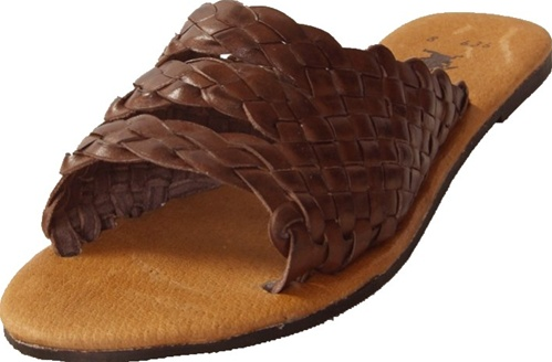 Women S Chancla Huaraches Brown