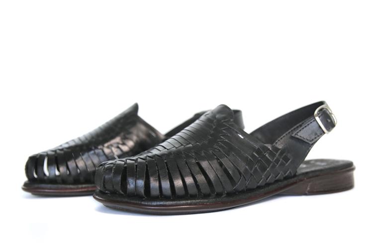Closed Toe Huarache Sandals