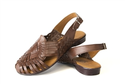 Women's Closed Toe Noche Huaraches Sandals - Brown