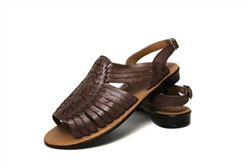 Women's Open Toe Mayo Huaraches Sandals Brown