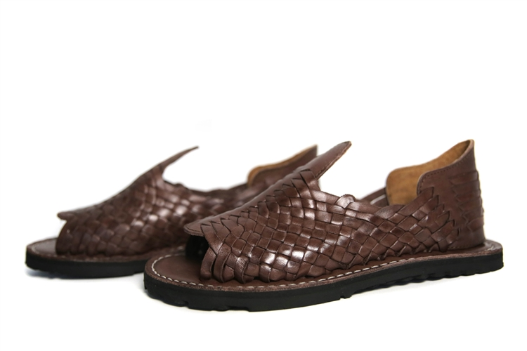 Premium Men\u0027s Huarache Sandals , Grueso Brown