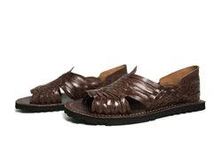 Premium Men's Authentic Pachuco Huaraches - Brown