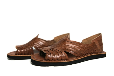 Women's Authentic Pachuco Huaraches - Reddish Brown