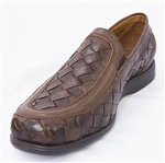 Playero Closed Toe Huaraches - Brown