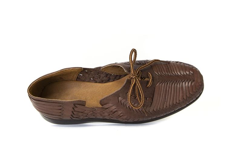 5e56a8808536 Shop Comfortable Mexican Mens Huarache Sandals
