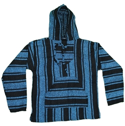 Authentic Classic Mexican Baja Hoodies