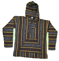 Authentic Colorful Classic Mexican Baja Pullovers
