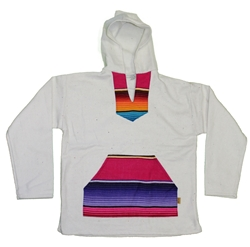 Unique Handmade Authentic Baja Pullover Hoodies