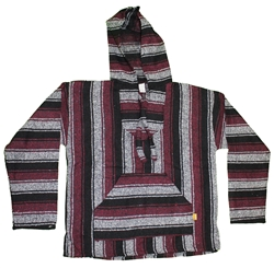Handcrafted Men's and Women's Baja Pullover