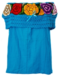 Buy Embroidered Mexican Off the Shoulder Tops