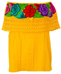 The Source for Off the Shoulder Mexican Blouses