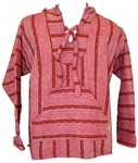 (2XL) Baja Pullover - Red Striped