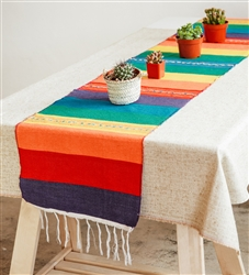 Shop for Mexican Classic Serape Table Runner - Multi-Color #1