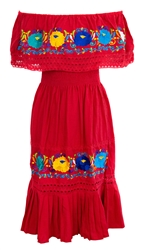 Buy Womens Off Shoulder Mexican Dress