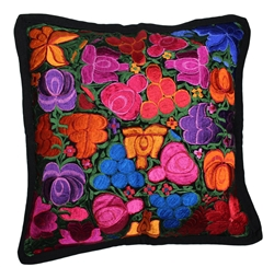 Mexican Embroidered Pillowcase - Pillow Case #1