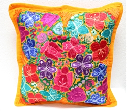 Mexican Embroidered Pillowcase - Pillow Case #15