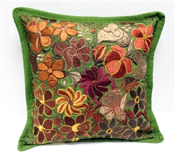 Mexican Embroidered Pillowcase - Pillow Case #17