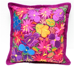 Mexican Embroidered Pillowcase - Pillow Case #20