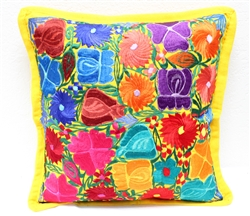 Mexican Embroidered Pillowcase - Pillow Case #21