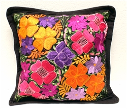 Mexican Embroidered Pillowcase - Pillow Case #22