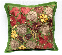 Mexican Embroidered Pillowcase - Pillow Case #25