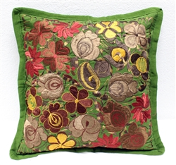 Mexican Embroidered Pillowcase - Pillow Case #26