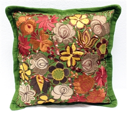 Mexican Embroidered Pillowcase - Pillow Case #27