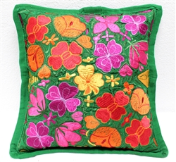 Mexican Embroidered Pillowcase - Pillow Case #29