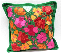 Mexican Embroidered Pillowcase - Pillow Case #3