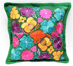 Mexican Embroidered Pillowcase - Pillow Case #30