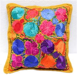 Mexican Embroidered Pillowcase - Pillow Case #31