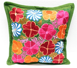 Mexican Embroidered Pillowcase - Pillow Case #7