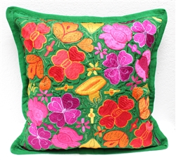 Mexican Embroidered Pillowcase - Pillow Case #9