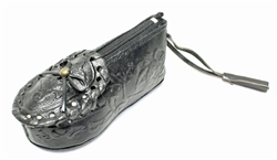 Huarache Shoe Coin Purse - Black