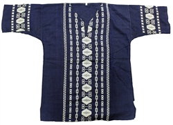 (Large) Men's Maya Embroidered Shirt - 1105