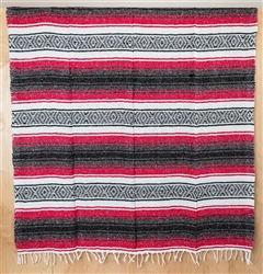 Mexican Falsa Blanket - Fuchsia