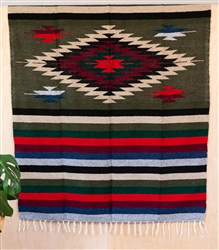 Colorful Mexican Heavy Blankets - Tribal 13
