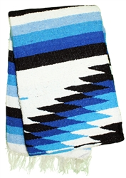 Colorful Mexican Heavy Blankets - Tribal 15