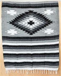 Colorful Mexican Heavy Blankets - Tribal 16