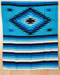 Colorful Mexican Heavy Blankets - Tribal 18