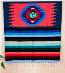 Colorful Mexican Heavy Blankets - Tribal 19
