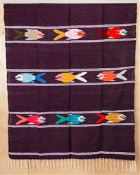 Colorful Mexican Heavy Blankets - Tribal 29