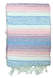 Shop for Pastel Colored Mexican Blankets
