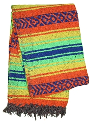 Shop Mexican Blankets for Yoga Pattern #11