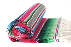 Your Source for Serape Striped Blanket Throws