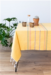 Find Round Handmade Mexican Tablecloths